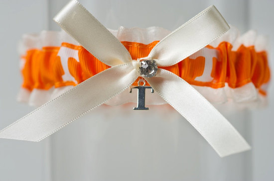 University of TN wedding garter