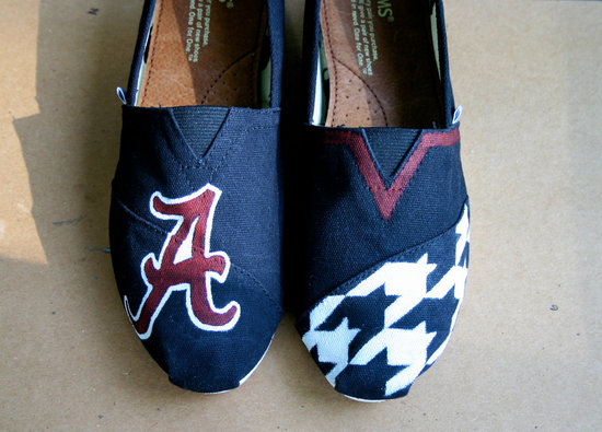 Toms wedding shoes alabama u