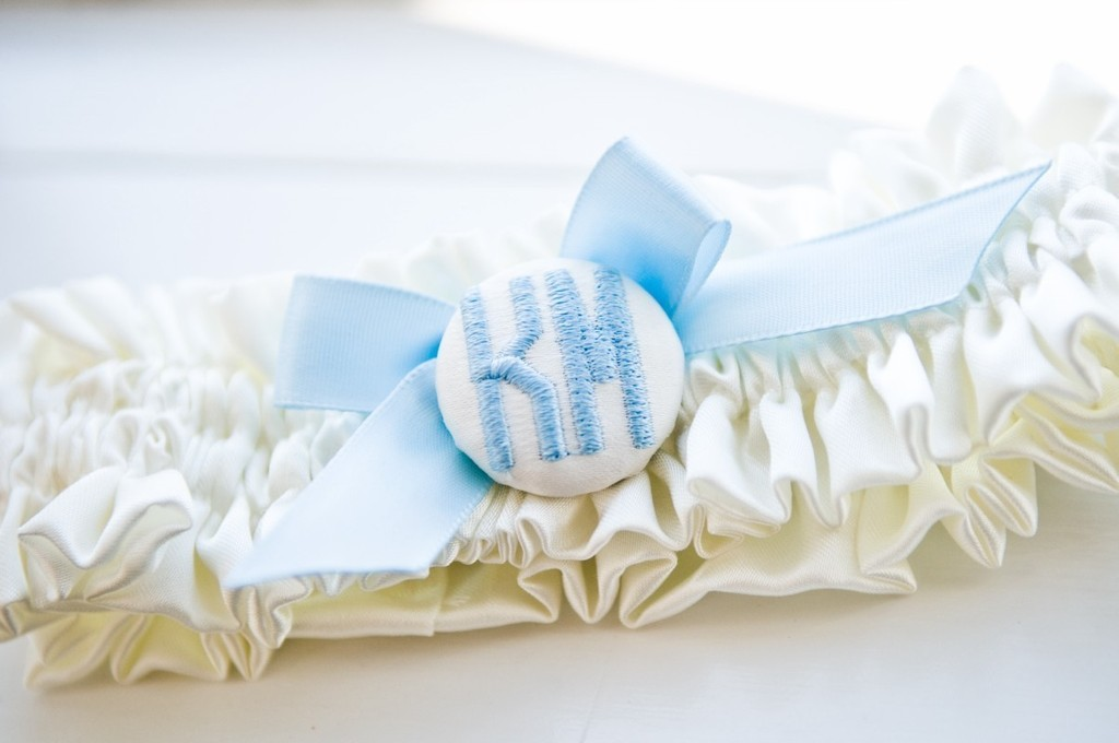Something-blue-bridal-garter-with-custom-monogram.full