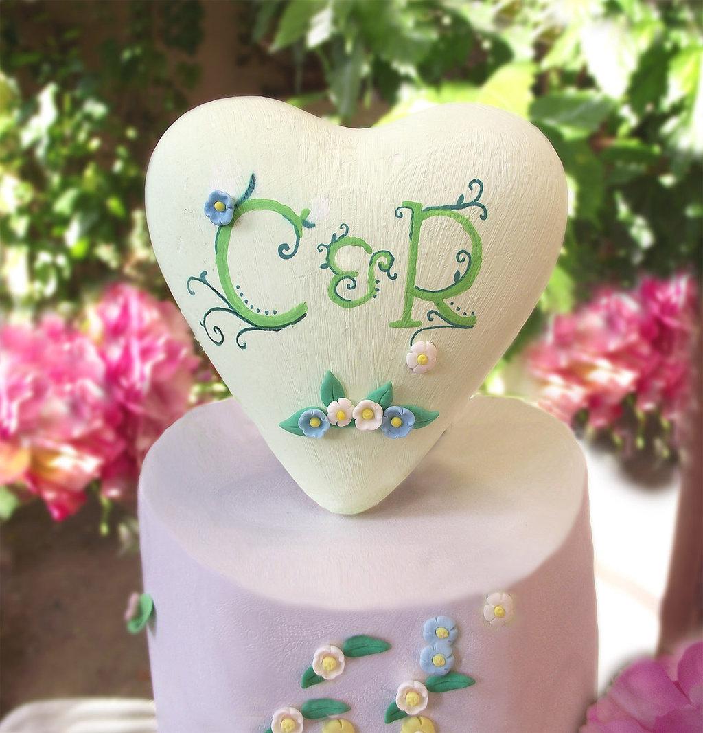 Sweet-wedding-cake-topper-hand-painted.full