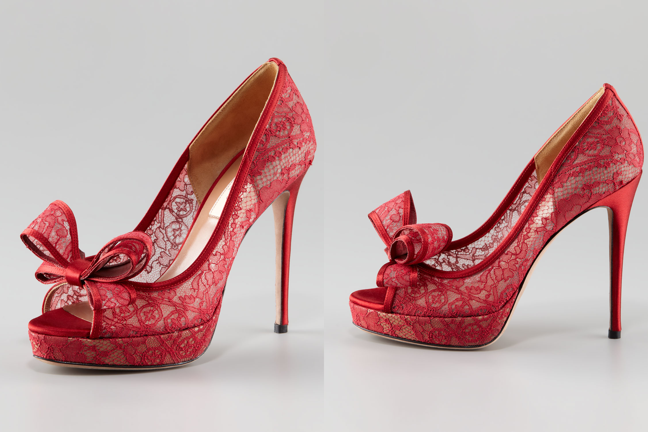 illusion wedding shoes for 2013 brides red lace onewedcom