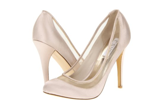 Illusion wedding shoes for 2013 blush