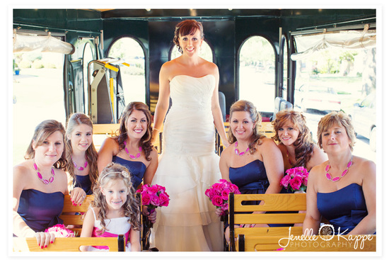 chicago-trolley-wedding-bridesmaids-photo-orland-park