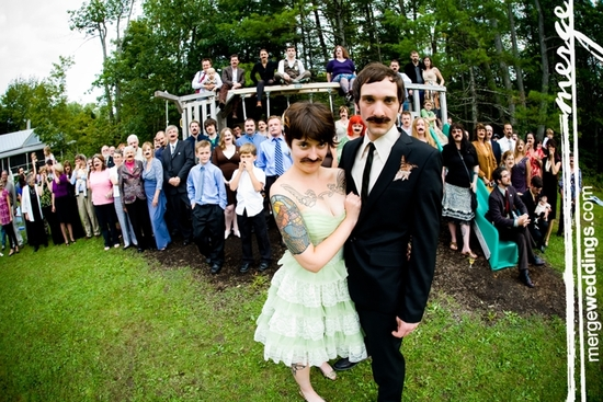 photo of Rock 'n Roll Bride: Three-Ringed Circus-Themed Weddings!