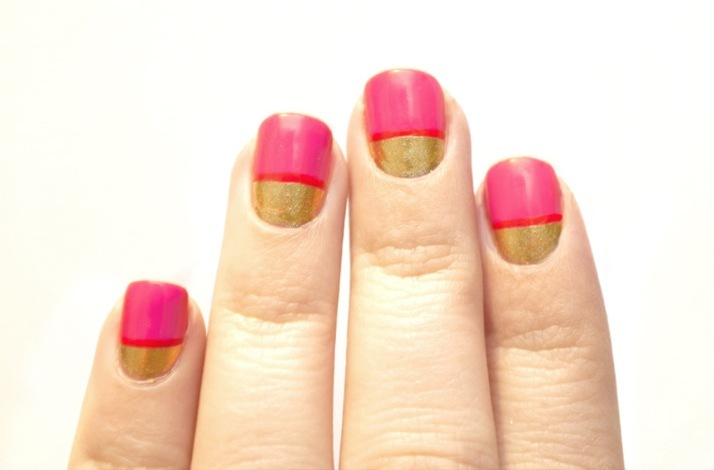 Pink-and-gold-wedding-nails.full