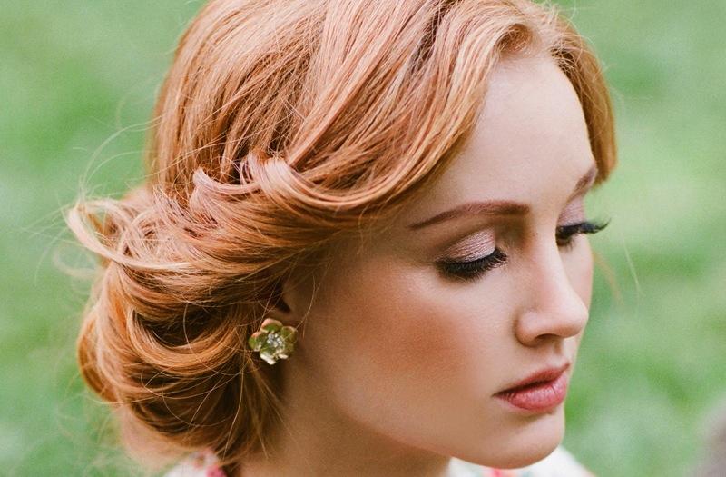 Wedding Hair And Makeup Inspiration : Wedding hair and makeup inspiration from Ruche 5 OneWed.com