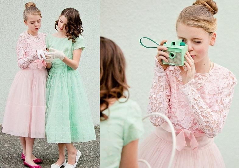 Easter Bridesmaid Dress