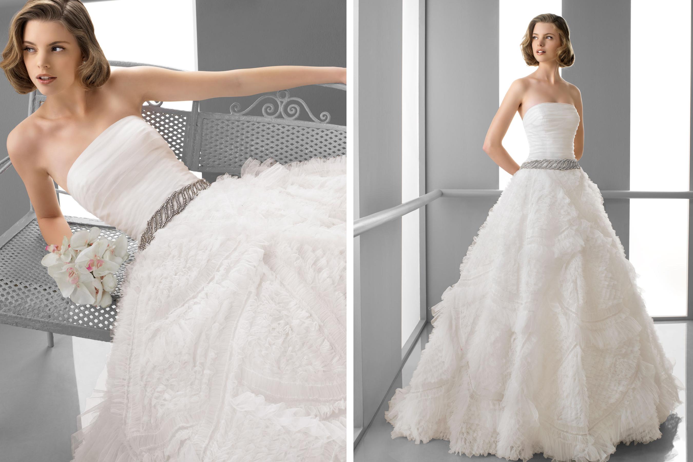 Alma novia wedding dress 2013 bridal futuro for Alma novia wedding dress