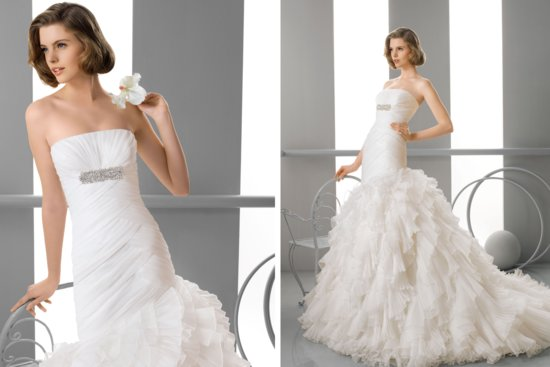 Alma Novia Wedding Dress 2013 Bridal Flor