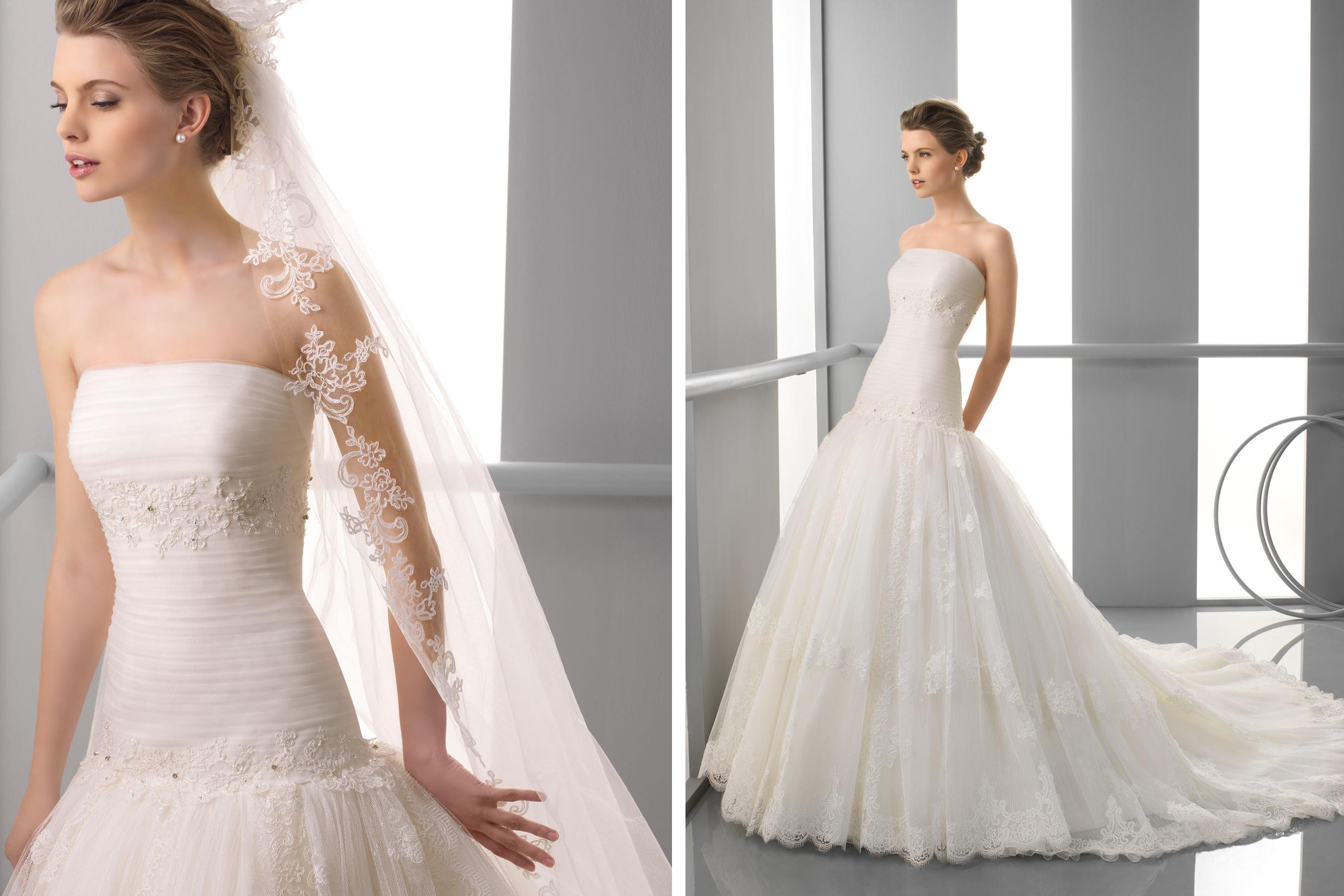 Alma novia wedding dress 2013 bridal faustine for Alma novia wedding dress