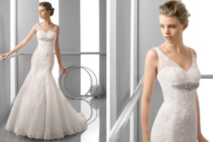 photo of 30 Stunning Wedding Gowns from Alma Novia 2013