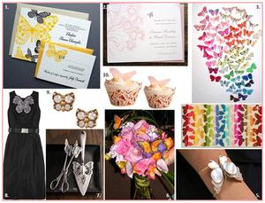 photo of Butterfly Inspiration Boards!