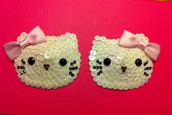 Hello Kitty Pasties for the Bachelorette