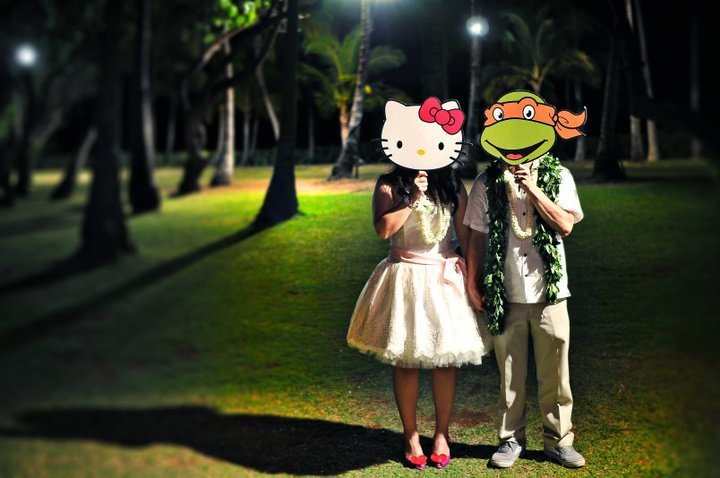 Wedding-reception-moment-bride-and-groom-transform-to-their-fav-characters.full