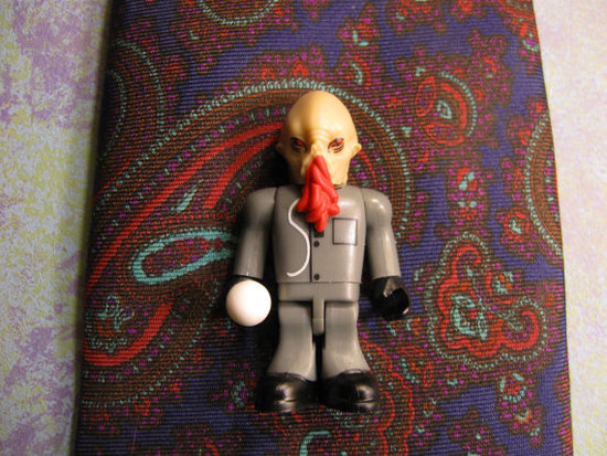 photo of Ood Tie Clip by Etsy seller chgallery.