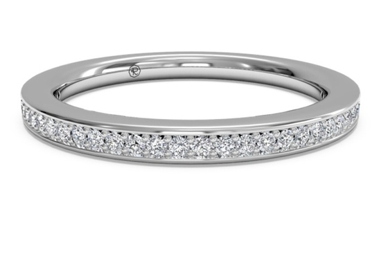 Simple Eternity Ring
