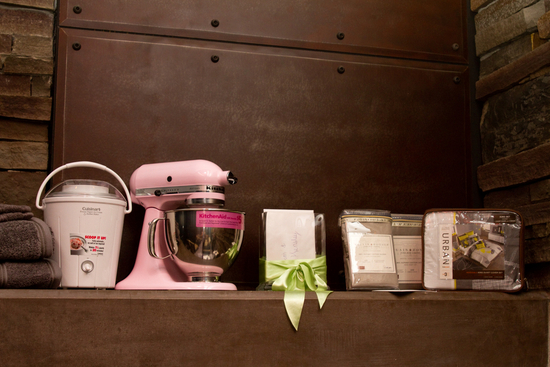 Pink KitchenAid and Other Wedding Gifts