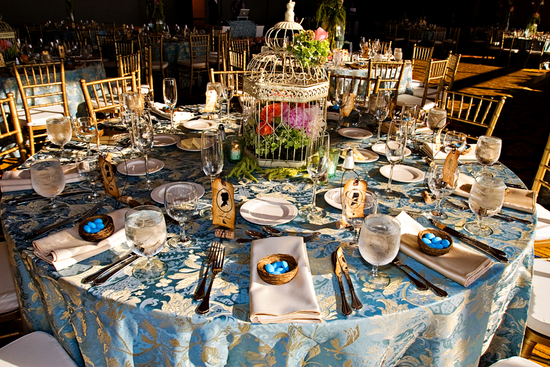 photo of Whimsical Spring Inspired Tablescape