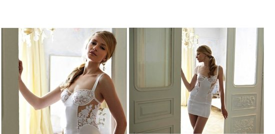bridal lingerie fleur of england all white jasmine collection 1
