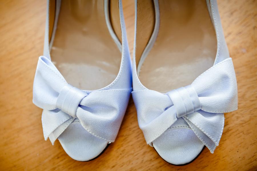 Sweet Something Blue Wedding Shoes
