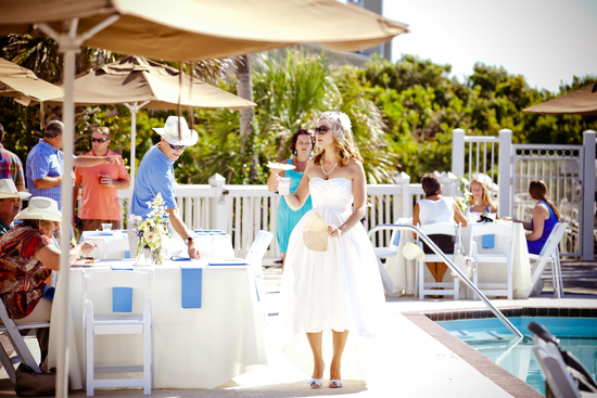 photo of Beachy Brunch Southern Wedding