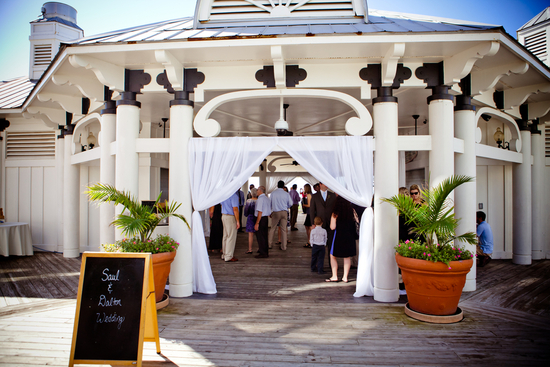 Destination wedding venue beachy pagoda