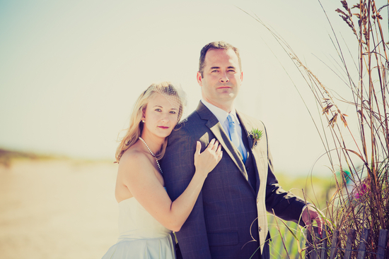Romantic wedding portrait outdoor destination wedding