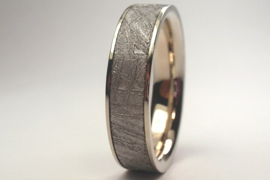 Palladium mens wedding band