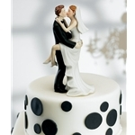 photo of Top off your wedding cake with a laugh