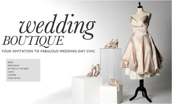 net-a-porter's wedding boutique for every guest at the wedding!