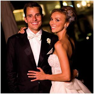 Wedding Photo of Giuliana DePandi and Bill Rancic