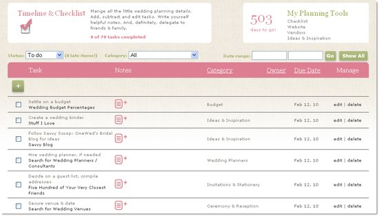photo of Introducing Our Interactive Wedding Planning Timeline & Checklist