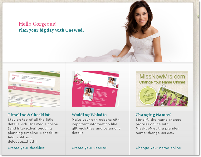 Online wedding planning tools for Online planning tools