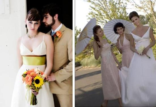 Olivia Luca Wedding Dresses using Fair Trade Silks