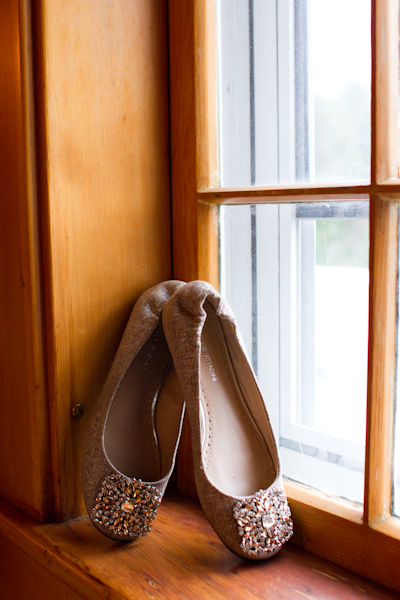 Ballet Flat Wedding Shoe