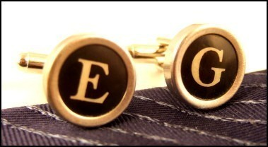 photo of Groomsmen cufflinks from Etsy