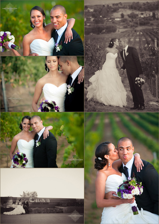 Callaway Winery Wedding - Cary Pennington Photography