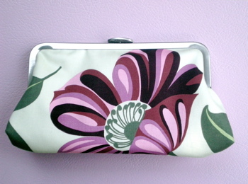 Blossom bridesmaid clutch