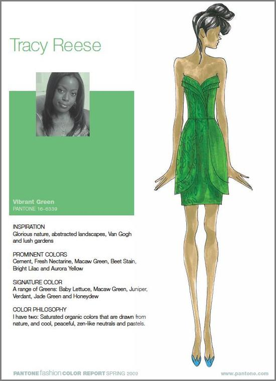 photo of Pantone's Fashion Color Report for Spring 2009!
