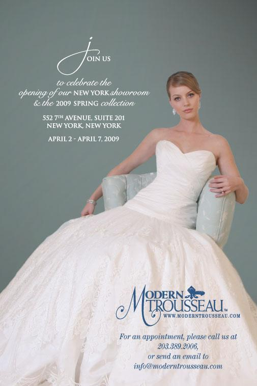 Modern Trousseau opens New York showroom on April 2nd