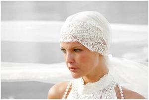 photo of Bride Chic: NEW DIRECTIONS IN HEAD CHIC