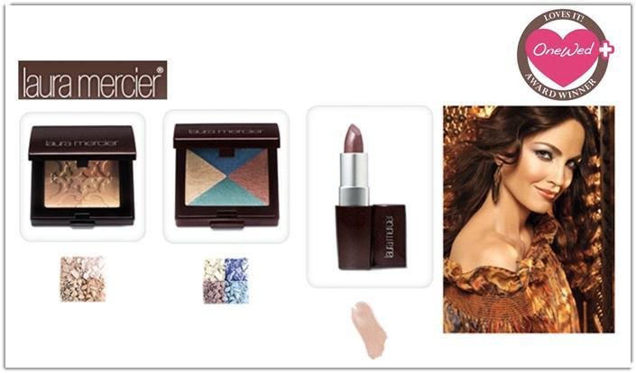 Laura Mercier's Bohemia collection features exotic colors and shimmering shades!