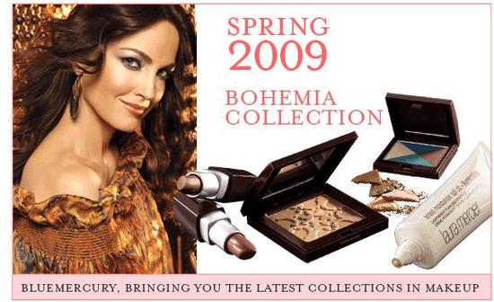 bluemercury offers Laura Mercier's latest Bohemia collection!