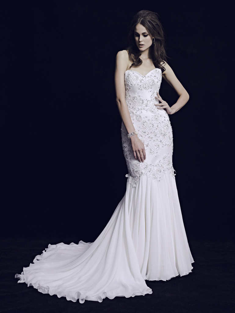 photo of Three Divine 2013 Wedding Dress Collections