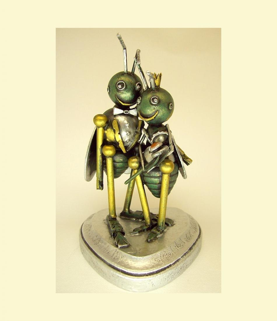Love bug wedding cake toppers junglespirit Choice Image