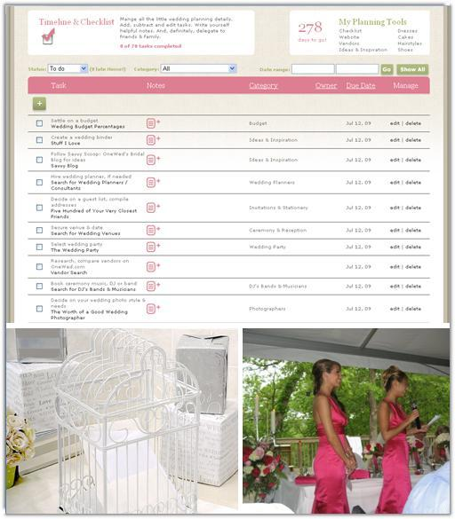 Wedding planning tools and checklists will help your wedding go off without a hitch