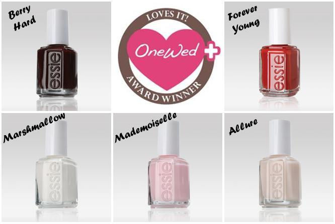 OneWed loves Essie nail polish for your wedding day!