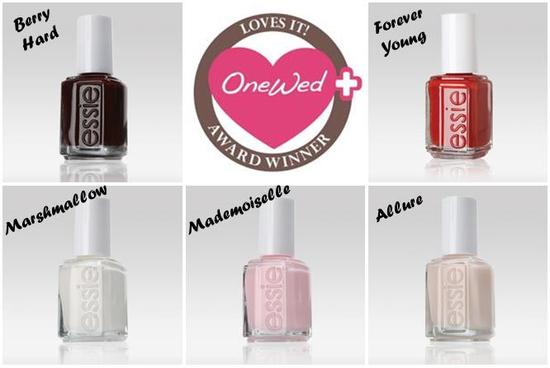 photo of Savvy Steals Weekly Giveaway- Every Essie Nail Polish Shade for your Wedding!