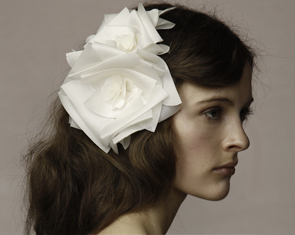 Jennifer Behr bridal headdress