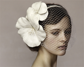 photo of Bridal hairpieces to make your groom swoon